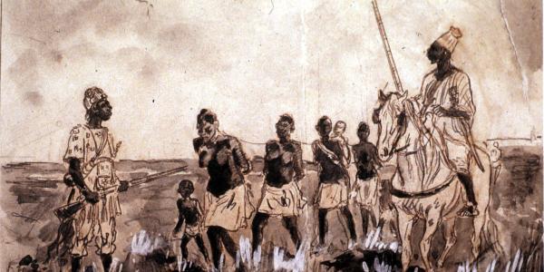Illustration of slaves