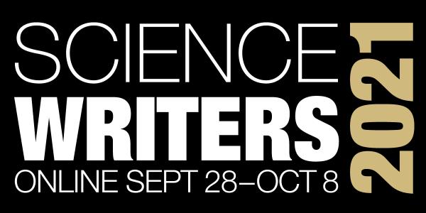 ScienceWriters 2021 logo