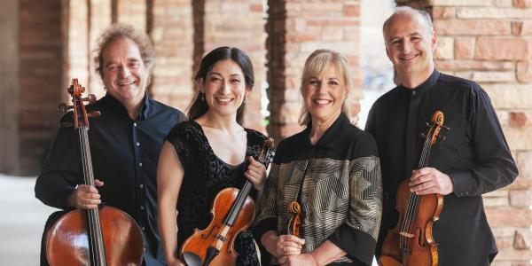 Grammy Award-winning Takacs Quartet