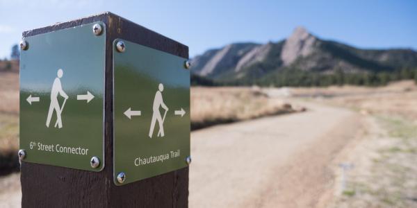 Trailhead at Chataqua