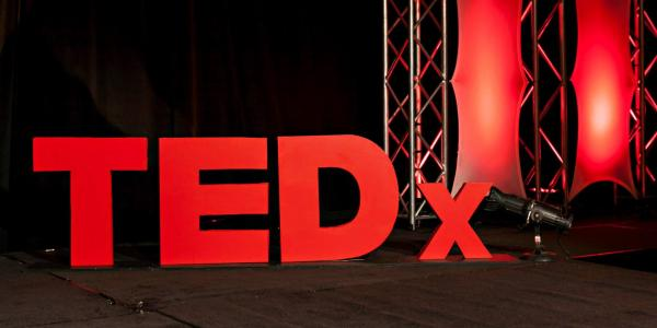 A TedX stage