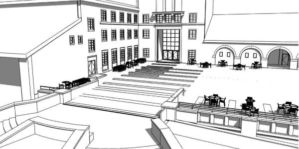 UMC terrace rendering
