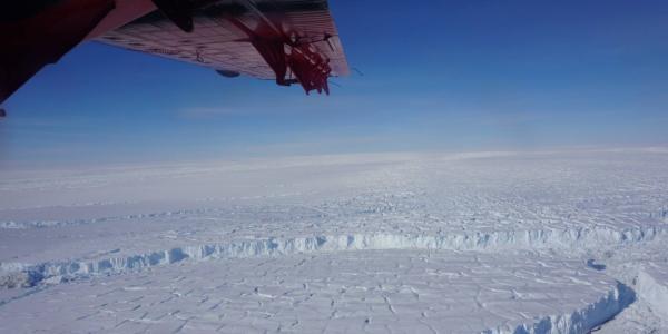 Thwaites Glacier in West Antarctica (Photo provided by British Antarctic Survey)