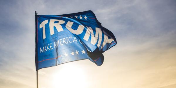 "Trump 'Make America Great Again"" flag"