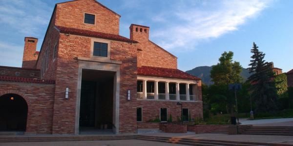 The University Memorial Center on the CU Boulder campus