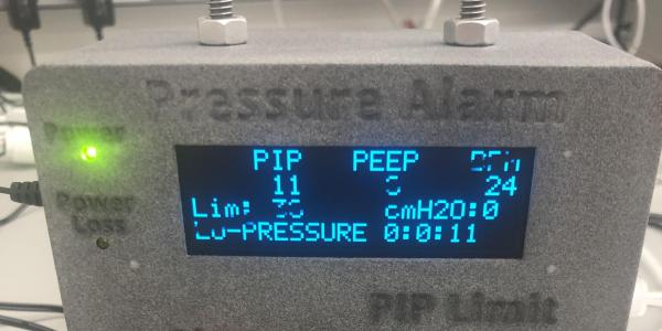 A JILA-designed ventilator alarm