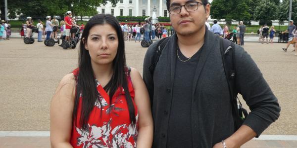 Melissa Padilla and Oscar Cornejo