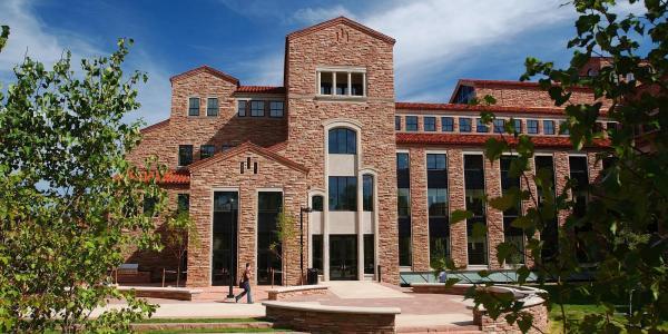 Wolf Law Building at CU Boulder
