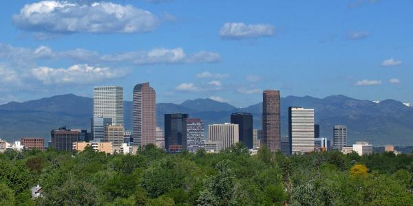 Photo of downtown Denver.
