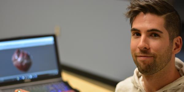 ATLAS graduate student Ryan Doner