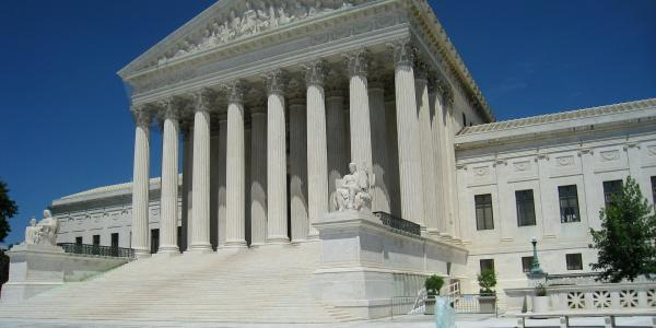 Stock photo of the US Supreme Court building.