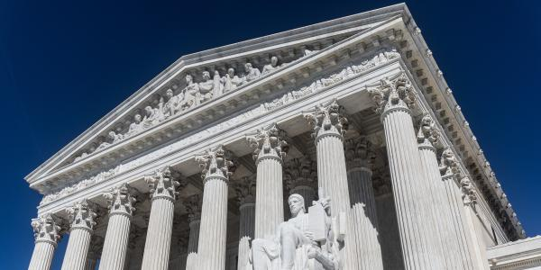 Stock photo of US Supreme Court