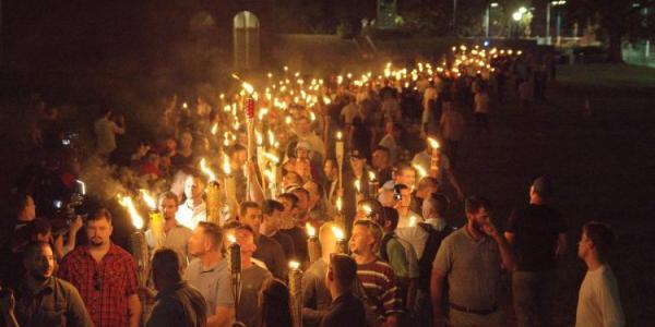 a rally in Charlottesville, virginia
