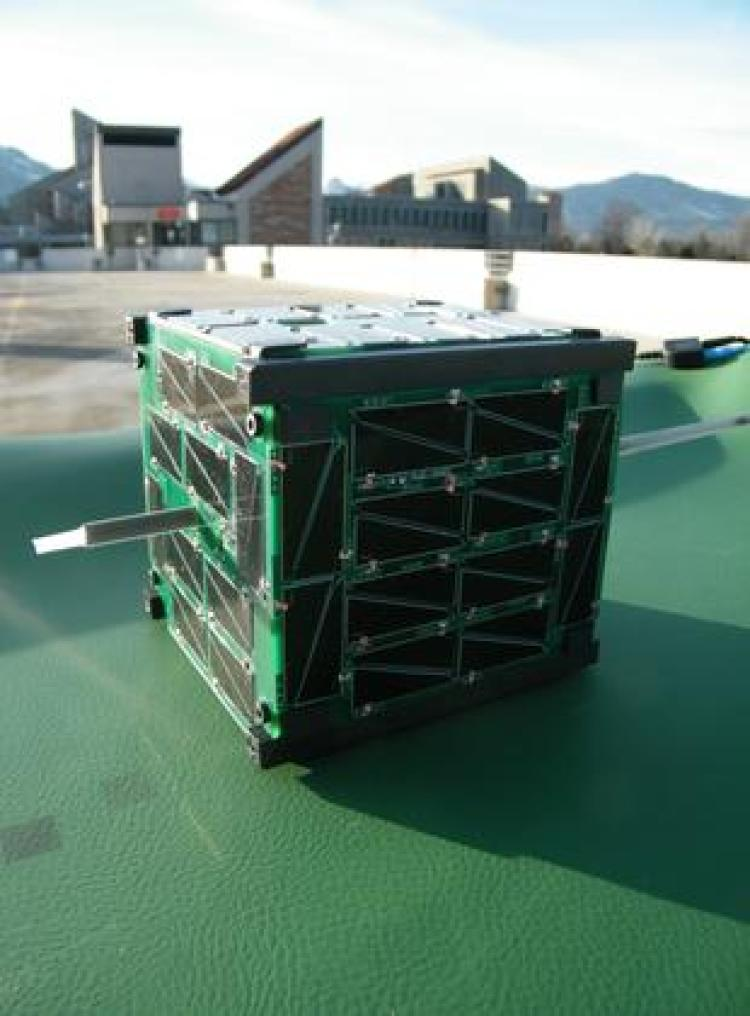 Cube communication satellite