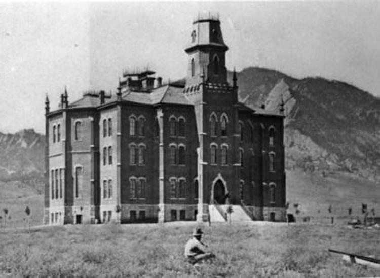 Historical photo of Old Main