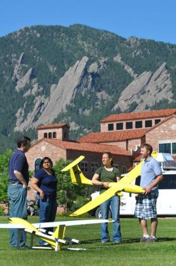 CU-Boulder leading new drone project to study severe storms | CU