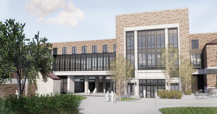 Engineering-Leeds addition rendering