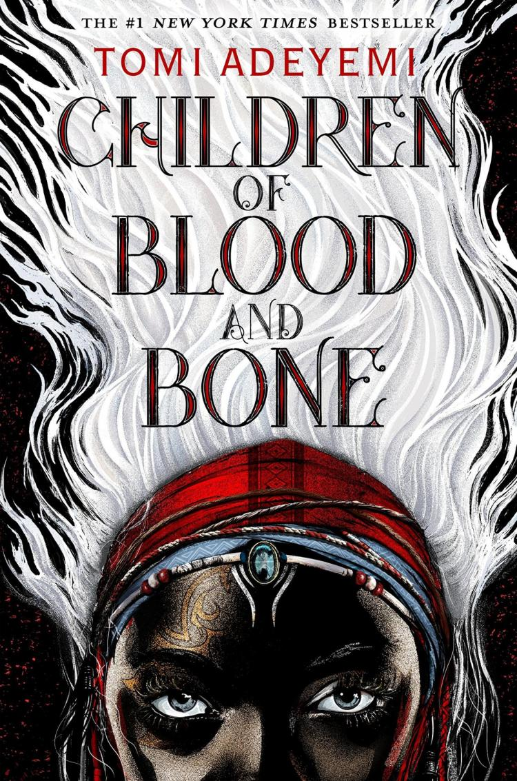 Book cover for Children of Blood and Bone by Tomi Adeyemi