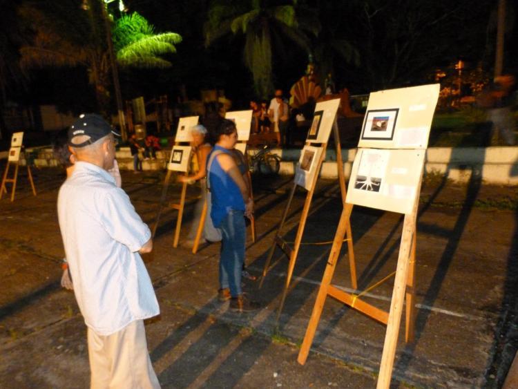 Artnauts exhibit in the Amazon