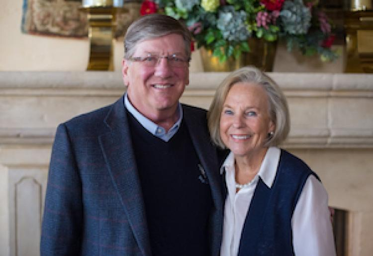 Ann Smead and Michael Byram