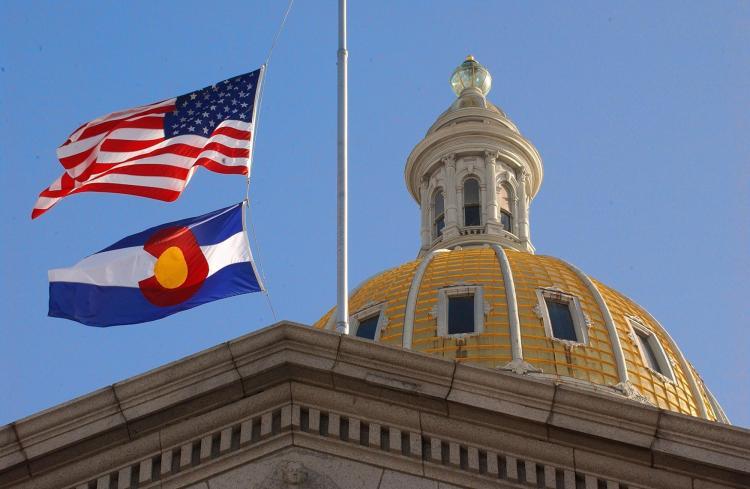 Colorado capitol building.