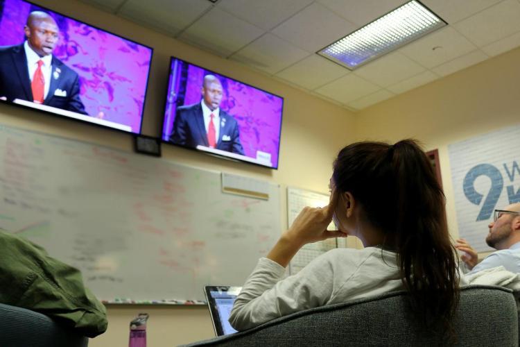 Students live fact check Colorado Senate debate with 9News station