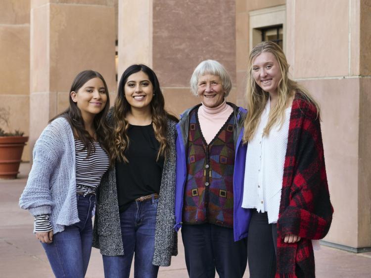 Esmeralda Castillo-Cobian, Diana Bustamante-Aguilar, Marjorie McIntosh and Cecilia Donovan.)