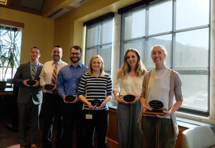 2018 winners at the Disability Services Awards Ceremony