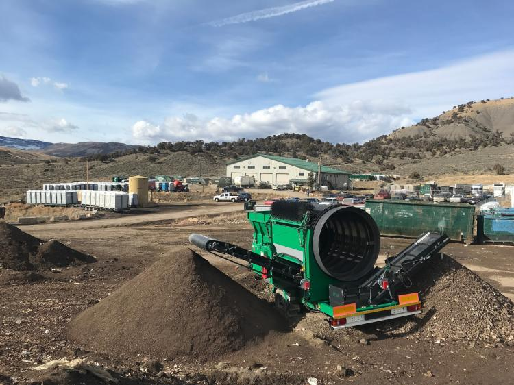 Eagle County waste compost site