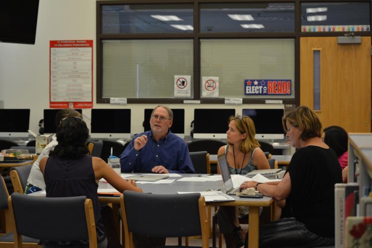 John Hoover teaches teachers in Eagle County
