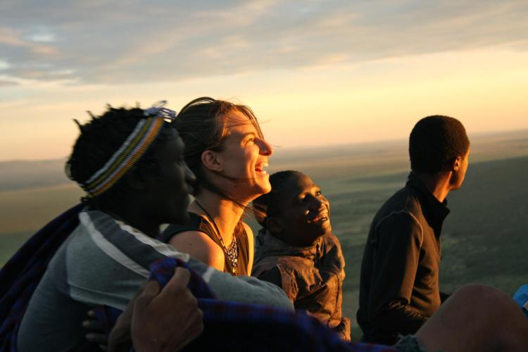 Students studying abroad in Tanzania