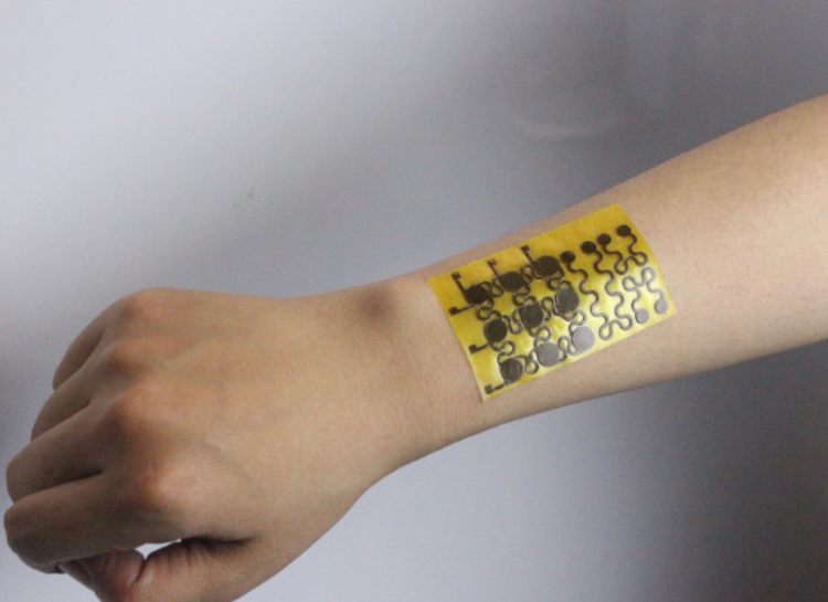 Flexible 'e-skin' can heal itself