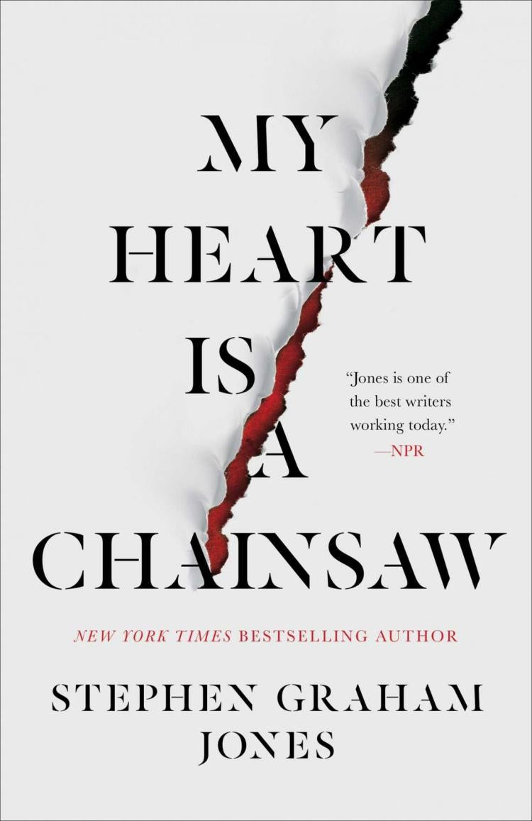 The cover of My Heart is a Chainsaw