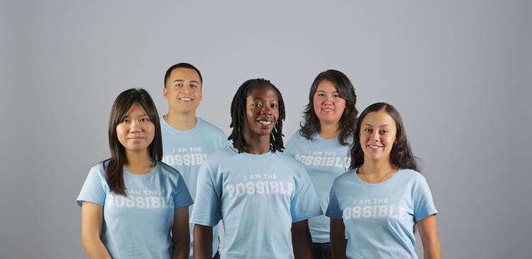 Five Denver Scholarship Foundation scholarship recipients
