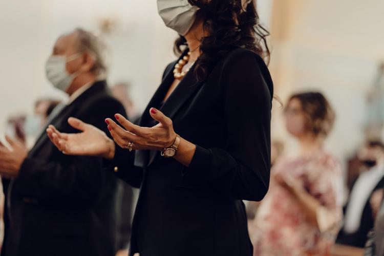 Praying during covid