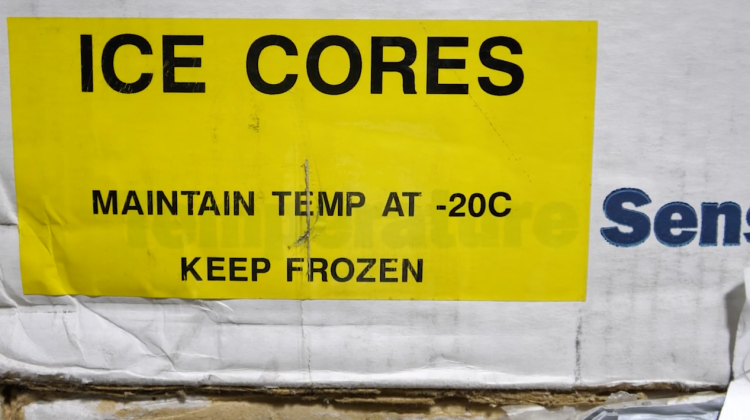 ice core boxes
