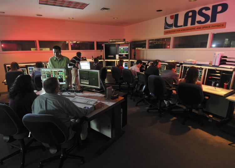 Kepler operations center at LASP