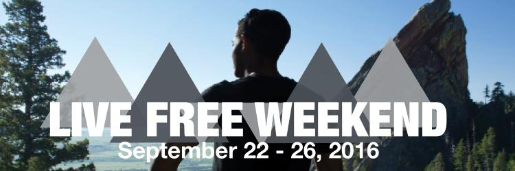 Live Free Weekend