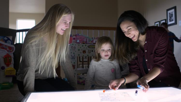 Bright lights inhibit the production of melatonin in preschoolers