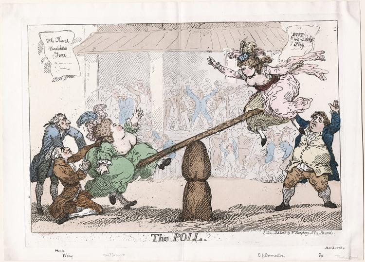 The Pole, etching