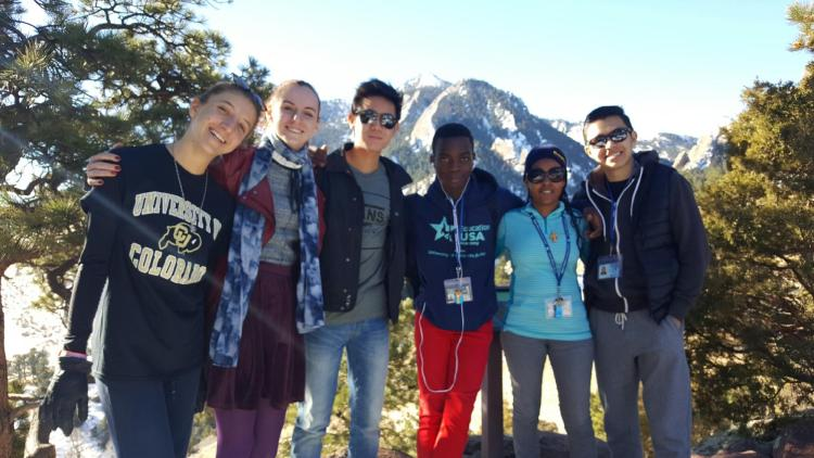 EducationUSA Academy group at NCAR in Boulder