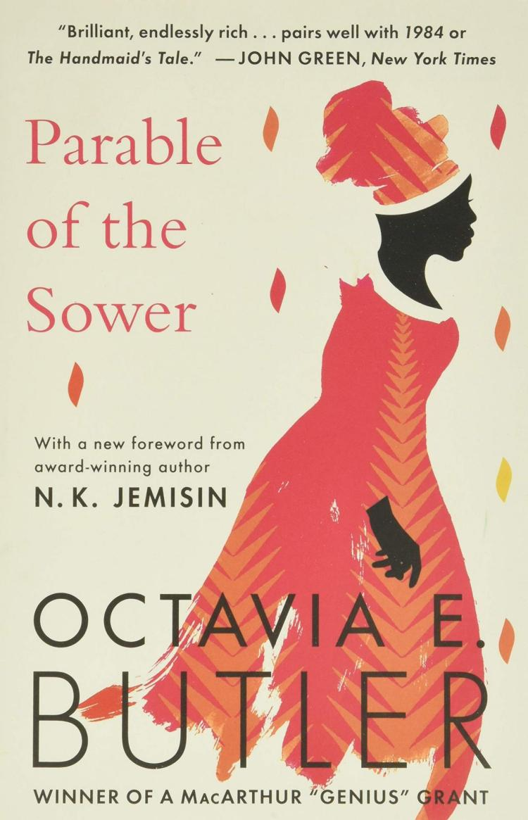 Book cover for Parable of the Sower by Octavia Butler