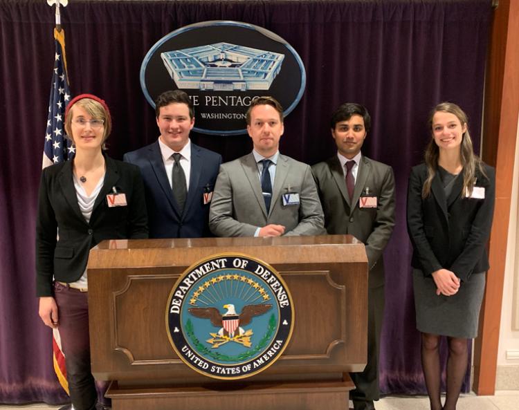 SAPANA members at Pentagon