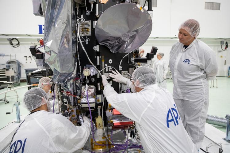 Parker Solar Probe plaque