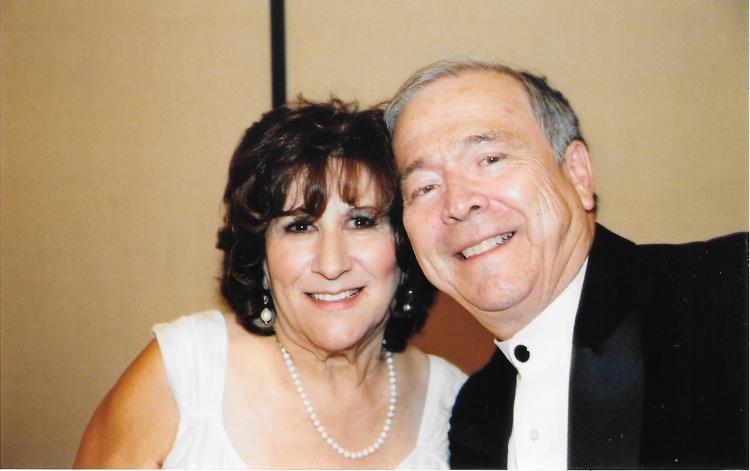 Professor Emeritus Albert Ramírez and his late wife, Vera.