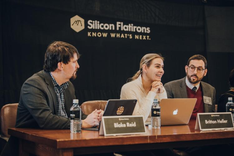 Panelists debate the future of technology at the Silicon Flatirons 2020 conference.