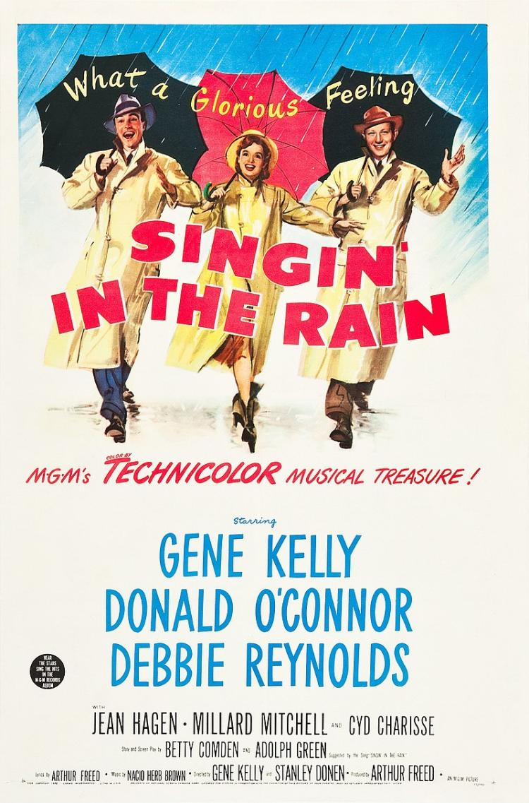 Poster for Singin' in the Rain