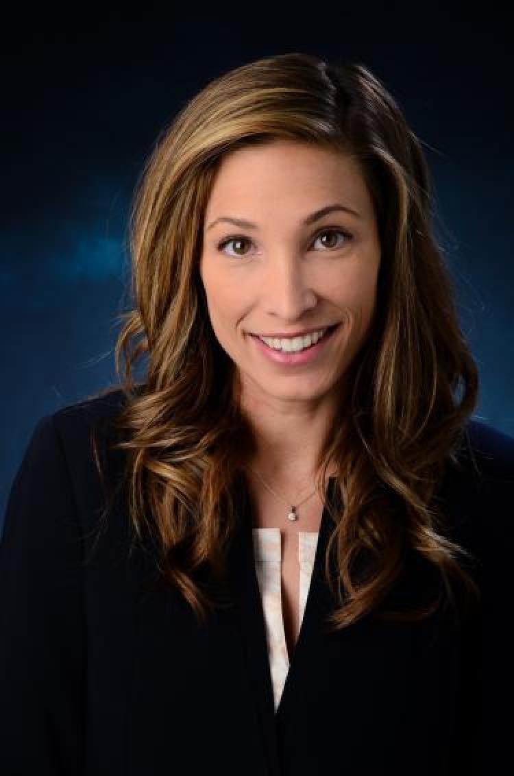 A headshot of Stefanie K. Johnson.