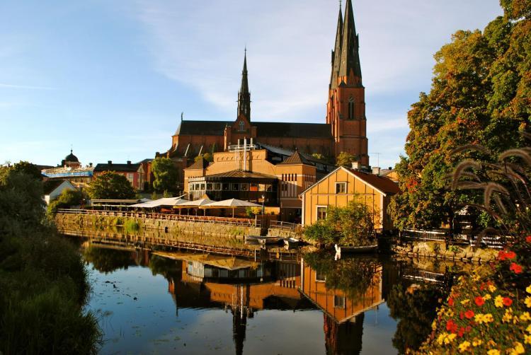 Uppsala Cathedral in Sweden