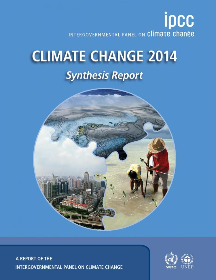 IPCC AR5 Report cover